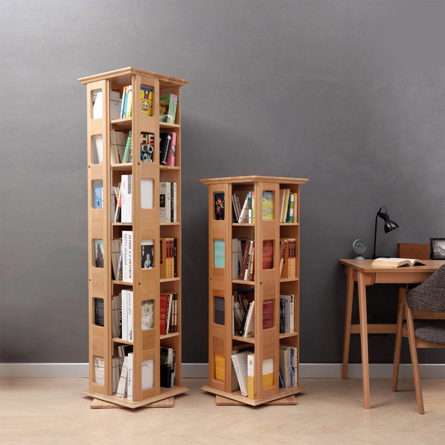 Unbelievable 360 Revolving Bookcase