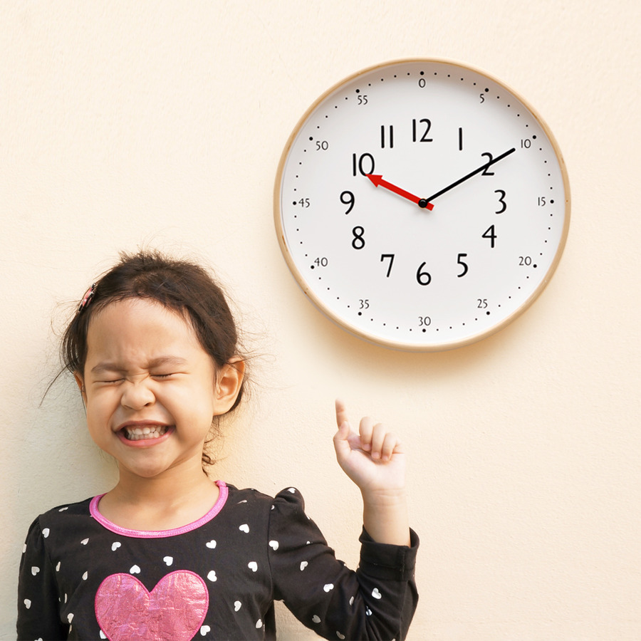 Educational Wall Clock KARA series