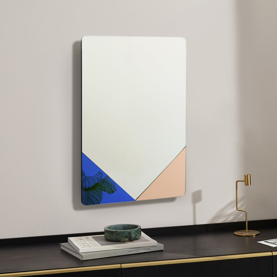 Chloe Art Rectangular Mirror