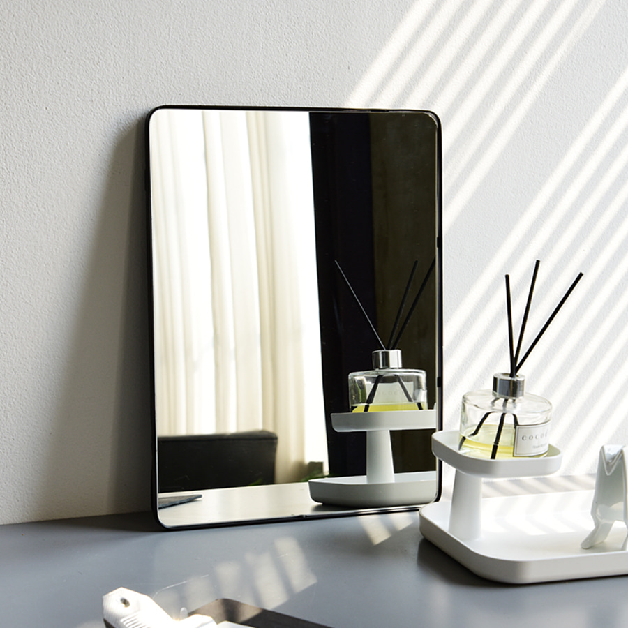 Modern Black Frame VIC Mirror