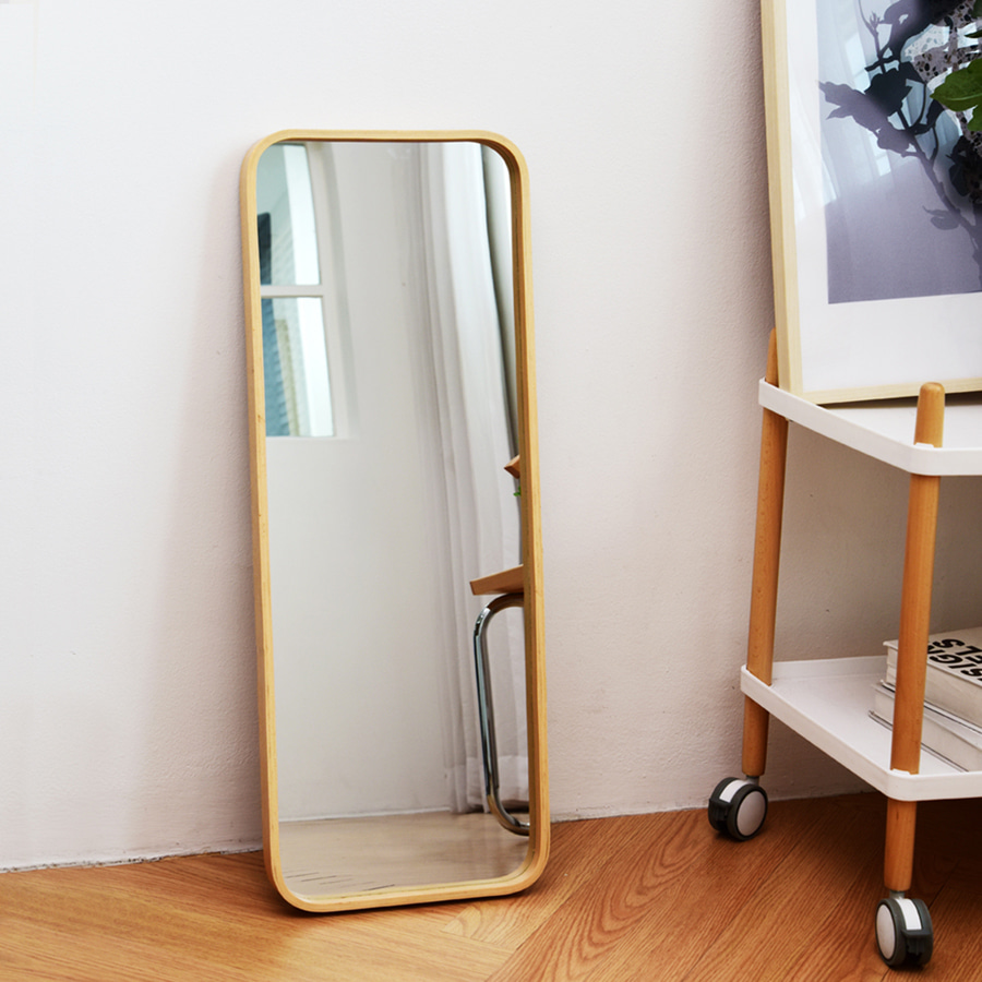 Liz Wood Shelf Mirror
