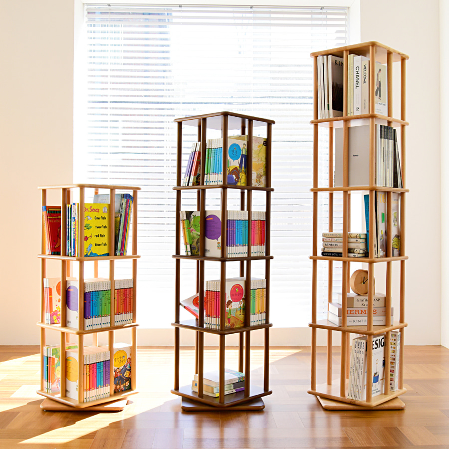 Stick Revolving Bookcase