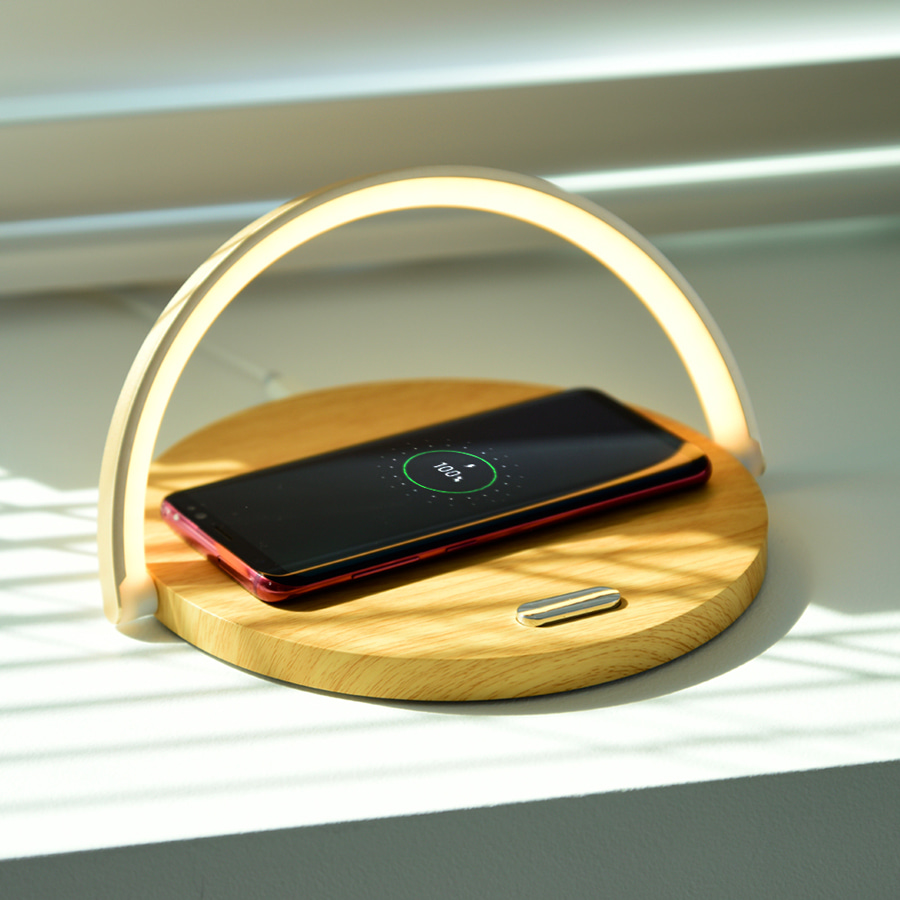 LED Mood Light Wireless Charger