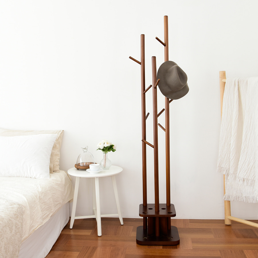 Wood Multi Clothes Rack